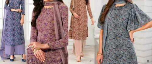 *NEW* Vaishali 3 Piece Suit 4608 A-D Unstitched Original