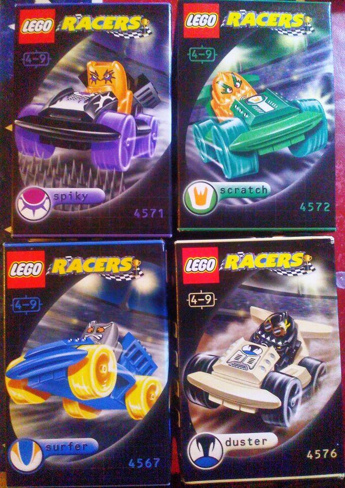 Lego Racers, 4 x Lego