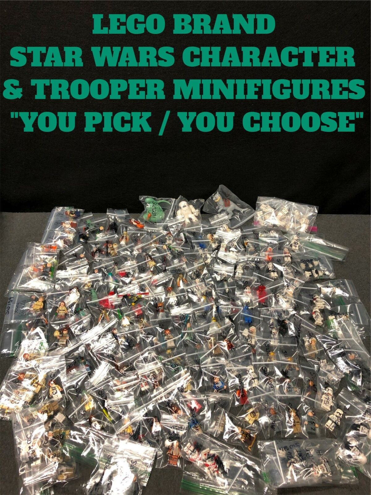 """AUTHENTIC LEGO BRAND STAR WARS CHARACTER MINIFIGURE /""""YOU PICK YOU CHOOSE/"""""""