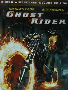 Details about GHOST RIDER (2007) Two-Disc Deluxe Edition Nicolas Cage Eva  Mendes Peter Fonda