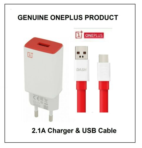 Original OnePlus EU 2-Pin red 2.1A AY0520 y Cable USB tipo C varias opciones