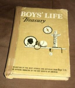 Vintage 1958 Boys Life Treasury,Stories & Articles from Boy Scouts of America