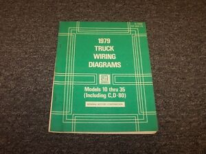 1979 Chevy C10 C20 C30 K10 K20 K30 Truck Electrical Wiring Diagram