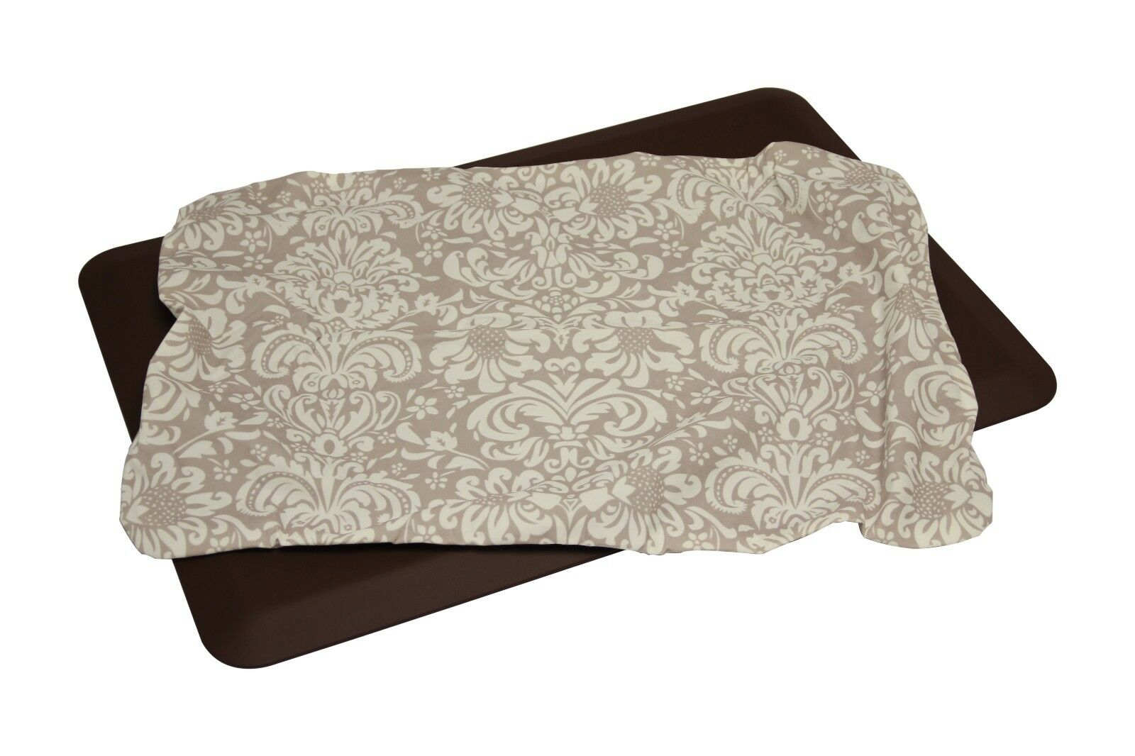 WellnessMats 3' x 2' Couture Seasons Mat Cover Combo - Dove