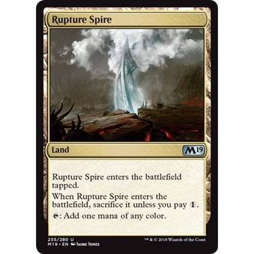 Rupture Spire MTG Core Set 2019