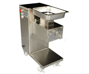 Commercial Kitchen Equipment Business & Industrial Removable Slicing/cutting Meat Machine,500kg/hour,1 Cutting Blade