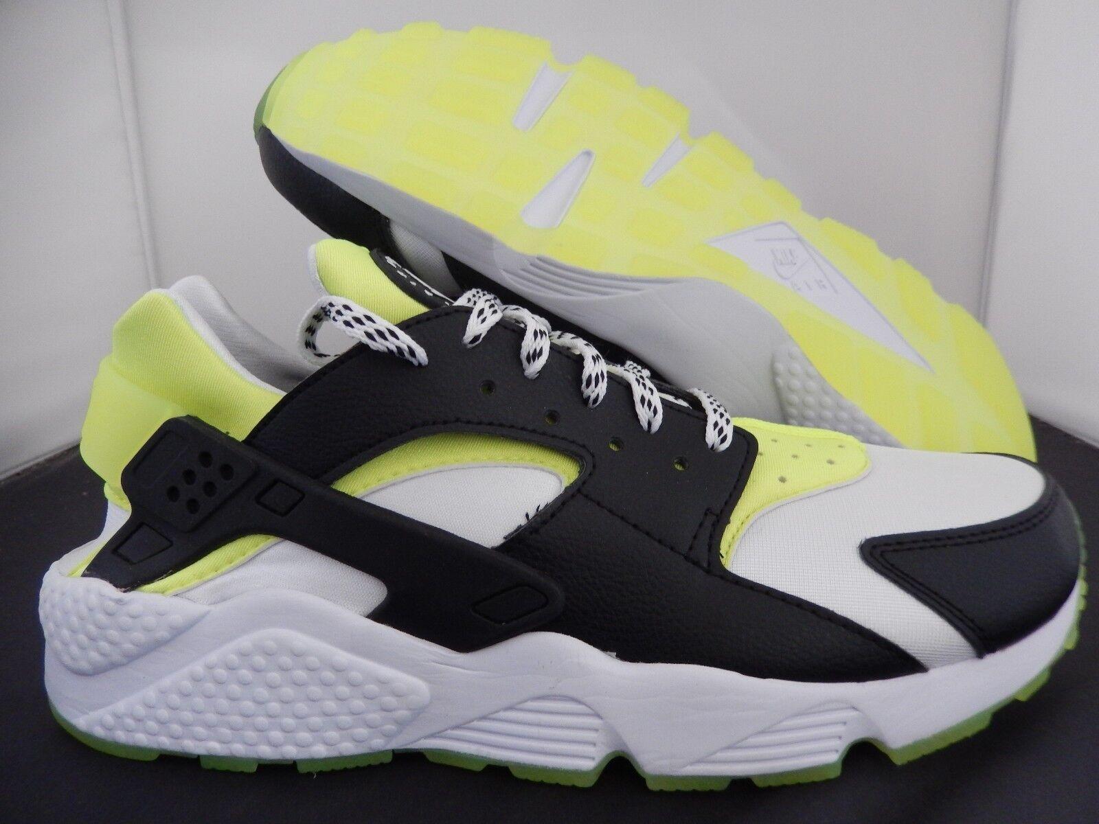 Para hombres Nike Air blanconegroverde Huarache ID blanconegroverde Air [777330991] 4e1574