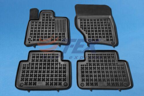 Hohe Gummimatten für Audi Q7 I 2006-2014 Gummi-Fußmatten Automatten