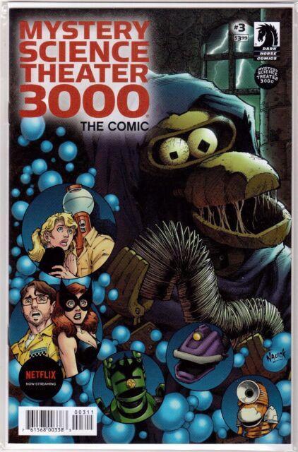 MYSTERY SCIENCE THEATER 3000 THE COMIC #3 Todd Nauck Cover Dark Horse Unread NM+
