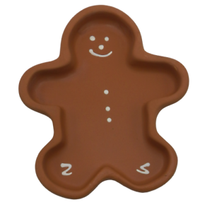 Hartstone-Gingerbread-Bowl-Cookie-Mold-Christmas-Shortbread-Pottery-Man-USA-Made