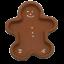Hartstone-Gingerbread-Bowl-Cookie-Mold-Christmas-Shortbread-Pottery-Man-USA-Made thumbnail 1