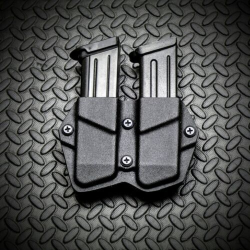 FNH FN509 FNX9 FNS9 FNP9 Kydex Double Mag Carrier Magazine Holster Pouch