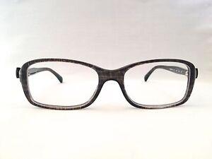 52e17f083c780 Authentic Chanel 3211 c.1263 Gray Tweed w Bow 51mm Frames Eyeglasses ...