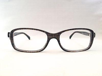 7ec173b91ab01 Authentic Chanel 3211 c.1263 Gray Tweed w Bow 51mm Frames Eyeglasses RX  Italy