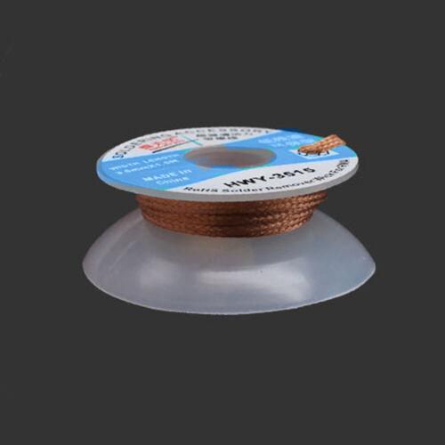 5ft 1Pc Desoldering Braid Wick BGA Wire CP-1515 CP-2015 CP-2515 CP-3015 1.5m