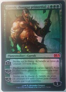 Garruk-Chasseur-Primordial-PREMIUM-FOIL-VF-French-Primal-Hunter-Magic-Mtg