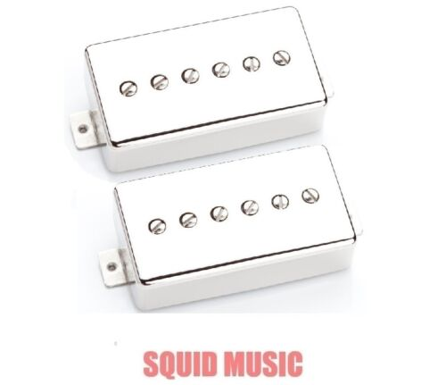 Seymour Duncan Phat Cat Nickel Cover Set SPH90-1 FREE WORLDWIDE SHIPPING