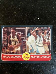 Michael-Jordan-North-Carolina-Magic-Johnson-Michigan-State-Top-Picks-NMMT-Card