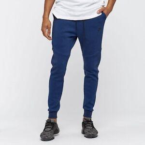 Nike Tech Fleece Joggers Sweat Pants Men S Xl 805162 452 Obsidian Blue Ebay