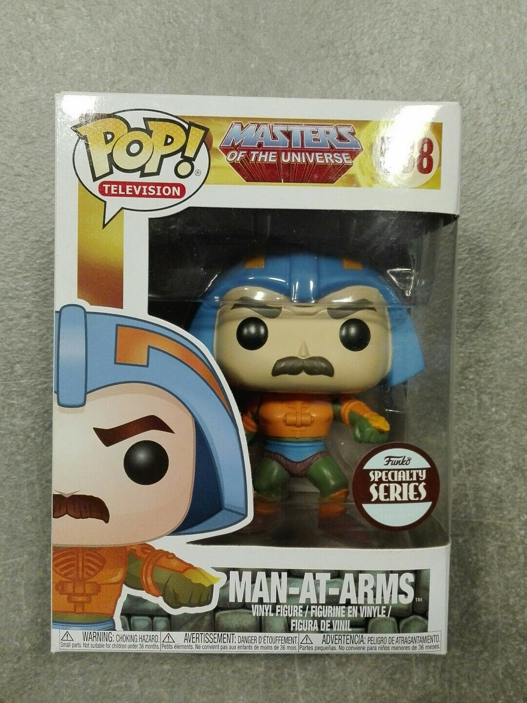 Funko Pop  - Man-at-arms Speciality Series