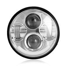 5 3/4 Chrome LED Daymaker Headlight - Harley Davidson Sportster / Dyna w/ DRL