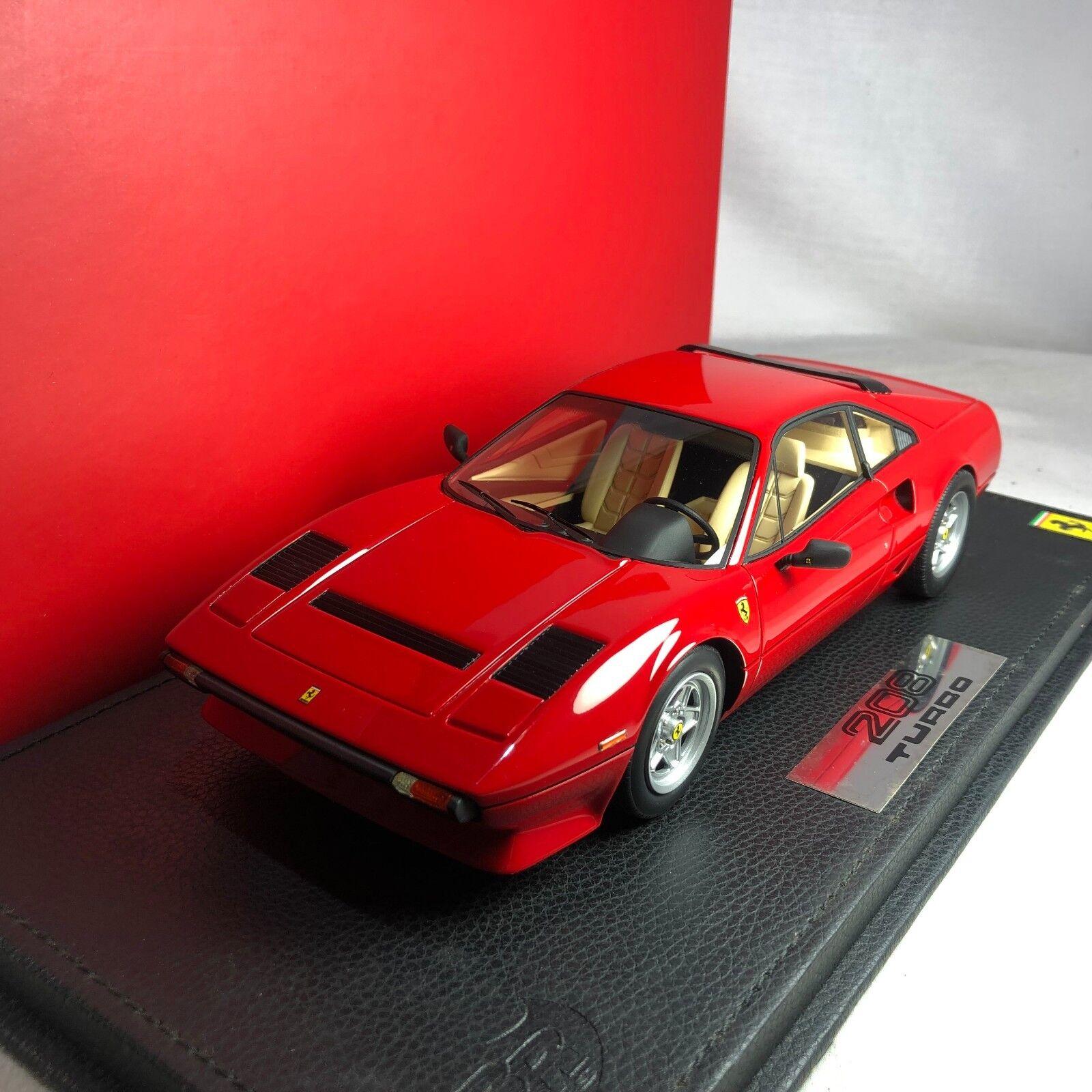 1  18 BBR modelllllerlerl \\\ FRAM35; P18103 Ferrari 208 GTB Turbo 1982 Ltd 437 pcs