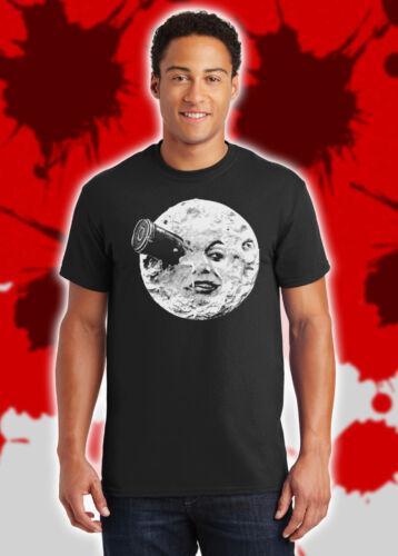 A Trip to the Moon Jules Verne Nostradamus Le voyage dans la lune Shirt NFT219