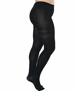 Essexee Legs Plus Size 80 Denier Opaque Footless Tights 89/% Nylon 11/% Elastane