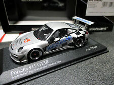 1/43 Porsche 911 GT3R Messe-Modell Nürnberg 2011 MINICHAMPS 403 108993 MINT !
