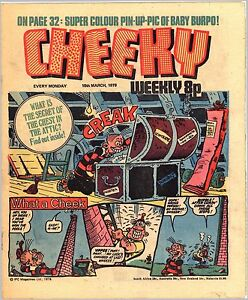 CHEEKY-18th-March-1978-IPC-Magazines-Ltd-weekly-8p-vollstaendig-32-Seiten