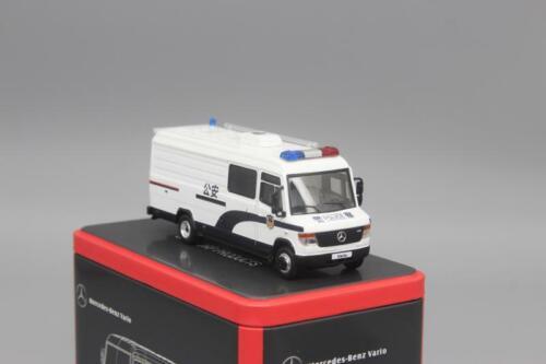 GCD 1:64 Benz Vario Heavy Van Diecast Model Car