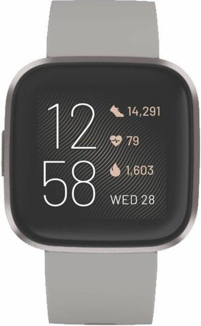 FITBIT Versa2 Special  Fitness Watch - Stone/MistGrey (4553387)