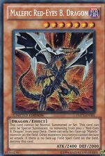 YuGiOh > Malefic Red-Eyes B. Dragon < Secret Rare SCR YMP1-EN001 Holo Engl.