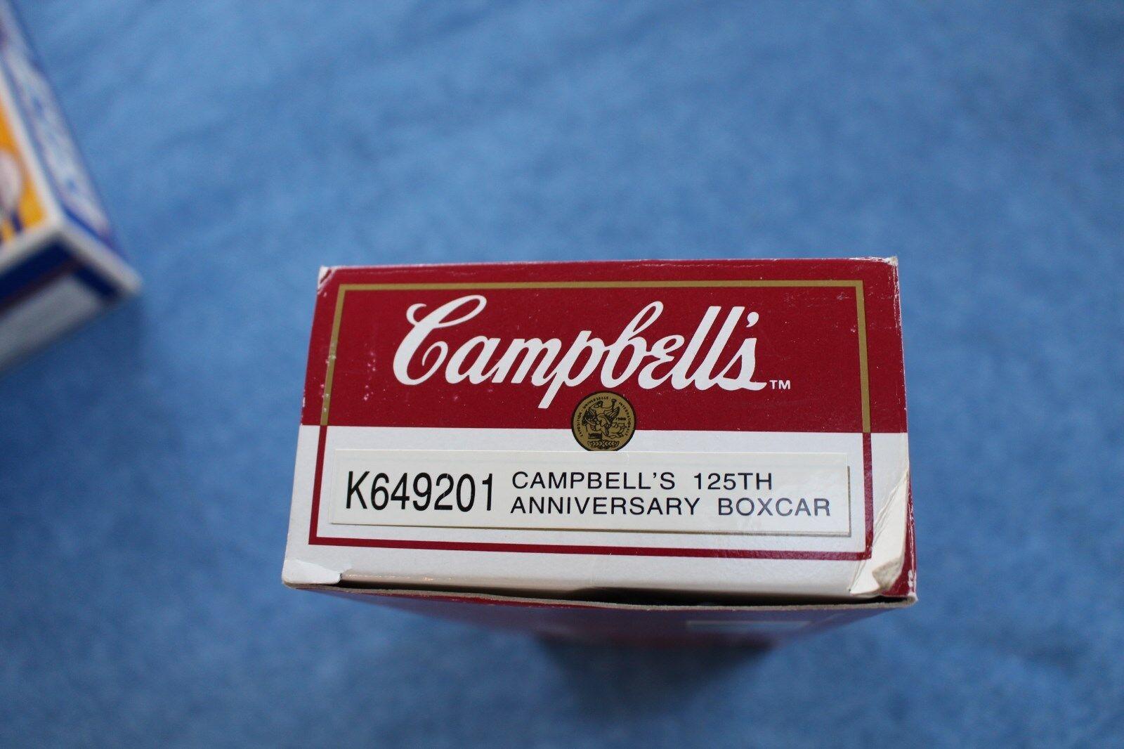 1994 K-Line  K649201 Campbell's Soup 125th Anniversary Box Box Box Car L2603 7bf315