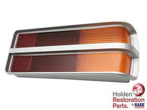 HOLDEN-LH-LX-TORANA-SILVER-REAR-TAIL-LIGHT-LENS-amp-GASKET-NEW-RARE-SPARES-QLD