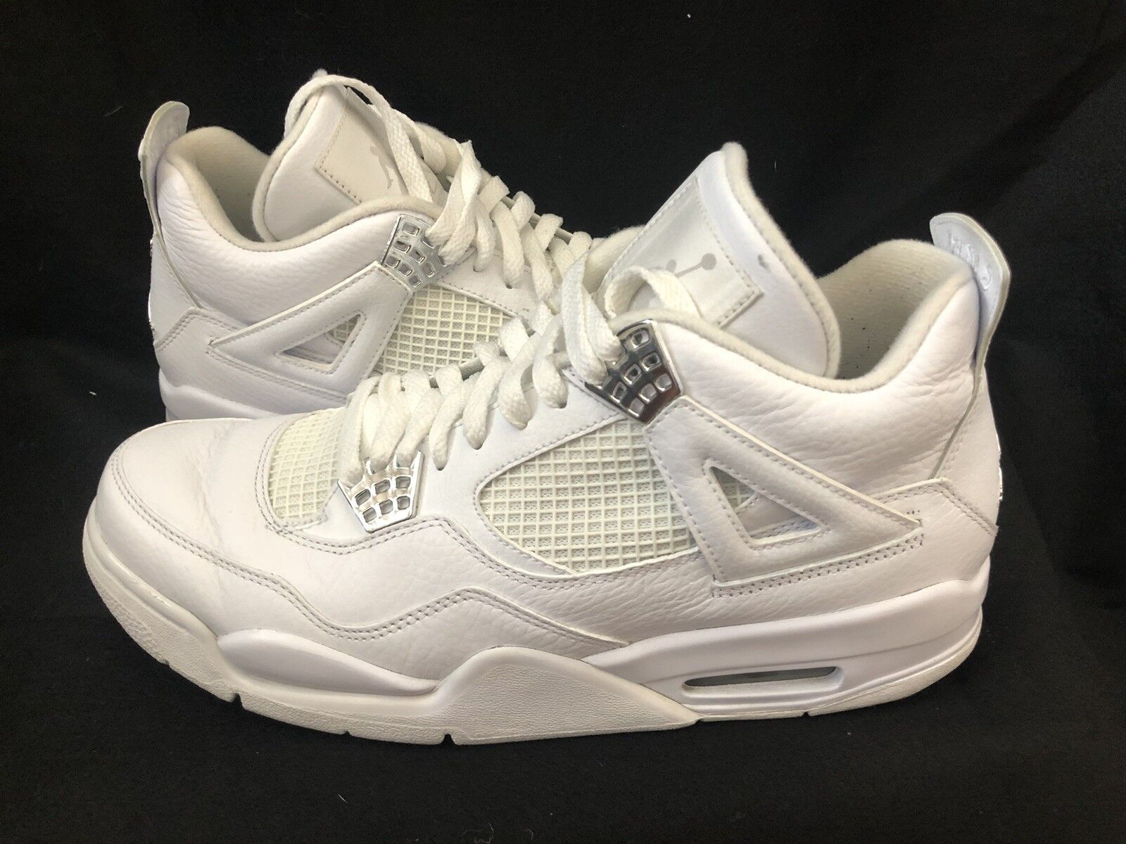 Nike Men's Air Jordan 4 Pure Money All Whote