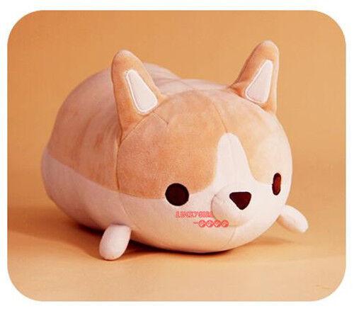 Adorable Fat Corgi Butt Plush Toy Funny Pillow Cushion Stuffed Animals Corgi Toy