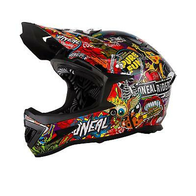 Ben Informato Oneal Warp Dh Casco Crank Mountainbikei Downhill Mtb Bicicletta Fr Am Sticker Bomb-