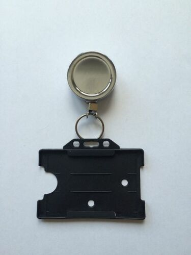 FREE P/&P!!! belt clip with Card Holder security Heavy Duty Retractable Reel