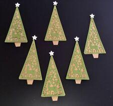 Sizzix Thinlits Die Set 4pk - 663442 Folk Christmas Tree by Lisa Jones