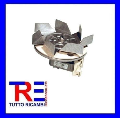 MOTOVENTILATORE FORNO COMPLETO VENTOLA ALBERO CORTO 12MM 30W 220V 699250029