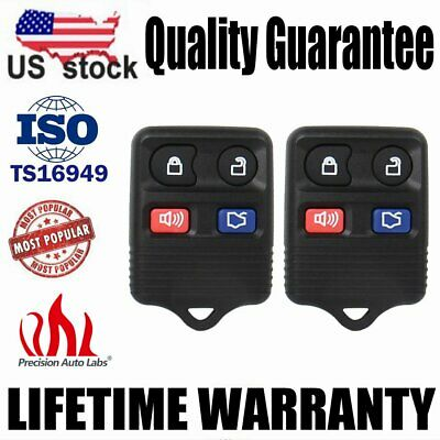 Pack of 2 Mushan Reomote Key Replacement for CWTWB1U212 Keyless Entry Fob fits 2001-2012 Ford Escape,1998-2015 Ford Explorer,2001-2012 Lincoln Navigator 2005-2011 Mercury Mariner