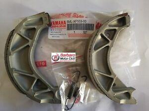 Pair-Brake-Shoes-Original-Yamaha-Xenter-125-150-Cignus-x-125-Clamp-Covers-All