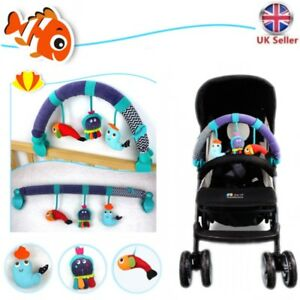 Mobile Ocean Music Crib Animal Toy Pram Clip Bed Hanging Bell Baby Rattles Dolls