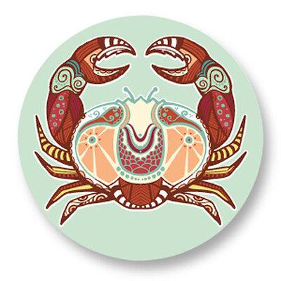 Magnet Aimant Frigo Ø38mm Signe Astrologique Zodiaque Zodiac Horoscope Vierge