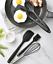 miniatura 9 - Set Utensili da Cucina in Silicone con porta utensili antiaderente high temper