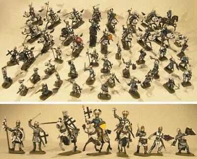 Teutonic Knights - Teutonici Medievali 46 Soldatini Dipinti 1:72 Vendita Calda 50-70% Di Sconto