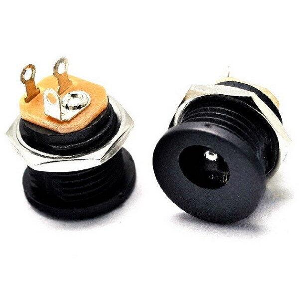 New 10pcs DC Power Outlet DC-022 Diameter 5.5mm Inner Pin 2.1mm 5.5x2.1mm BG
