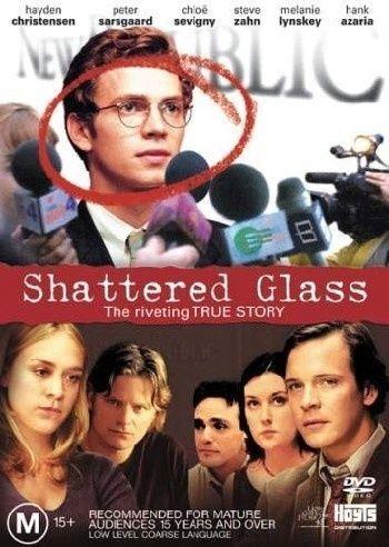 Shattered Glass (DVD, 2004).... R4