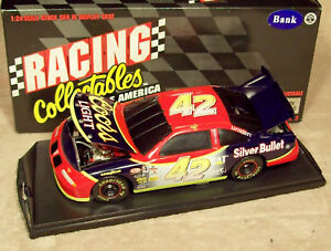 KYLE-PETTY-1996-COORS-LIGHT-SILVER-BULLET-1-24-W-CASE